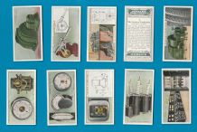 Tobacco cigarette cards set Applied Electricity 1928 Great Enganring set